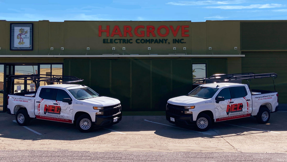 the hargrove electric company team