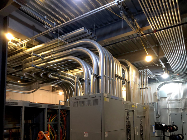 commercial electric wiring installation